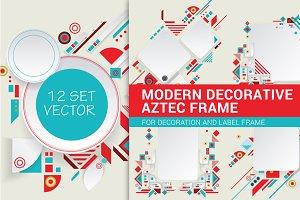 Set Modern Decorative Frame