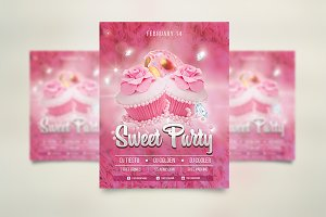 Sweetness Love Valentine's Day Flyer