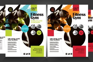 Fitness Gym Flyer V4