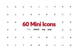 Mini Line Icons