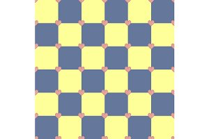 Yellow and blue pattern. Vector