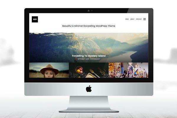 WordPress Photography Themes: Prollective - Storytelling WP Theme