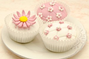 Cupcake decorated