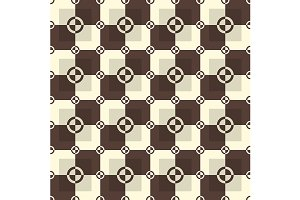Chocolate and sand pattern. Vector