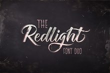 The Redlight Font Duo (UPDATE)