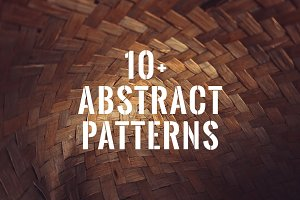 Abstract wooden patterns