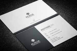 Creative and Simple Business Card