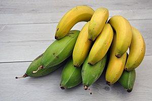 plantain and banana