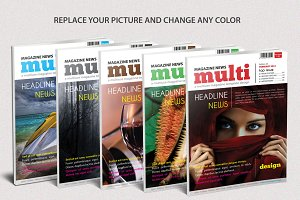 Multiuse Magazine Template