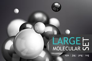 Large realistic Molecular set