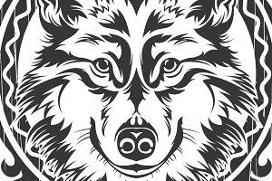 Wolf Vector + frame