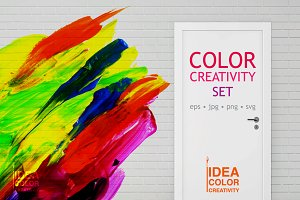 Color paint creativity set