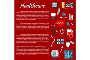 Healthcare medical infographics