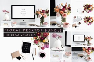 Floral Desktop Bundle