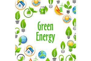 Green Energy environment poster