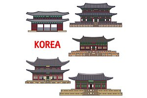Historic temples of Korea