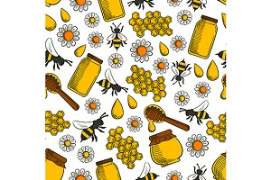 Apiary and beekeeping pattern