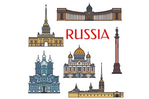 Landmarks of Russia