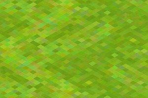 Pixelated green grass pattern