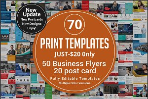 Bundle 50Corporate Flyer 20 PostCard