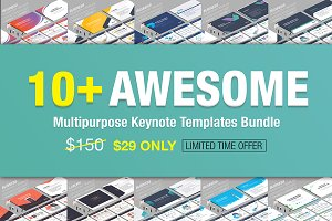 10+ Awesome Keynote Bundle