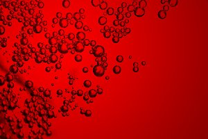 Bubbles in soft drinks