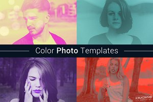 Color Photo Template