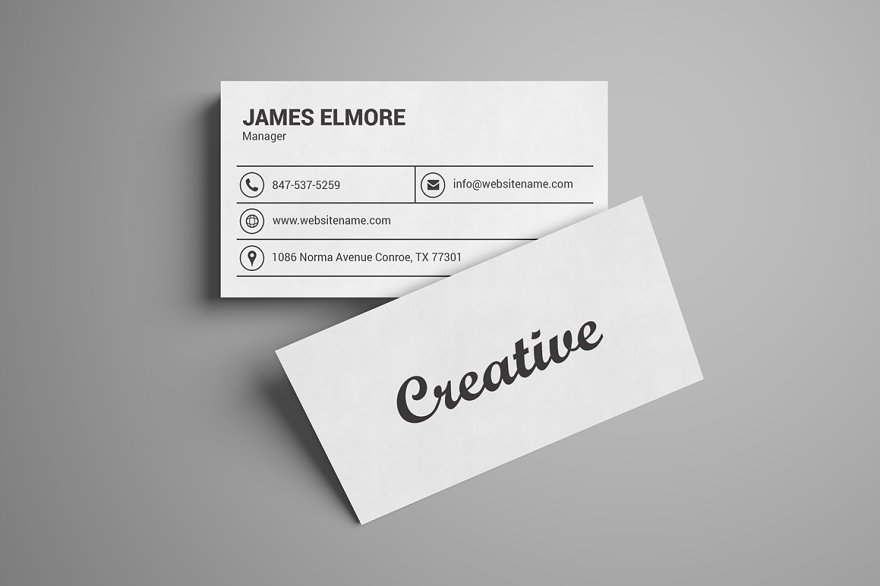 Coffee Shop Business Card Template - Business Card Templates ...