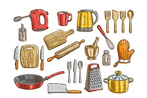 Kitchenware, utensil, appliance icon