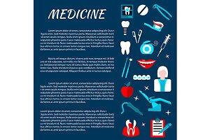 Dentistry medicine banner