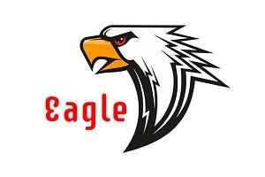 American Eagle vector mascot