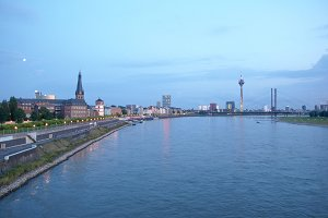 View of Duesseldorf