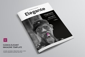 Clean & Elegant Magazine Template
