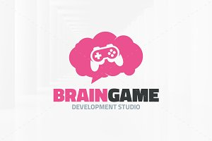Brain Game Logo Template
