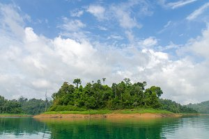 landscape of Green Lake