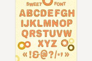 Beautiful Vector Sweet font