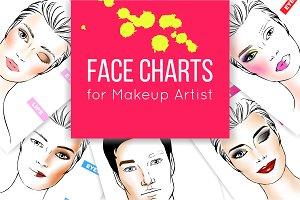 Face Chart Set