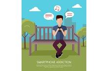 Smartphone Addiction Banner