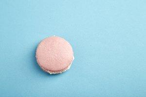 French pink macaron