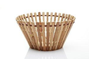 double Basket, plastic wood