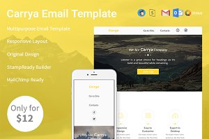 Carrya - Email Template