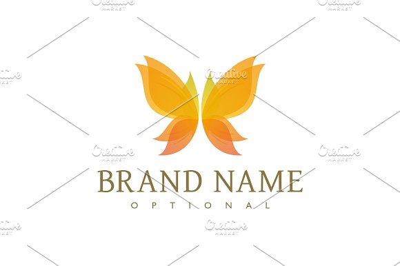 Autumn Butterfly Logo