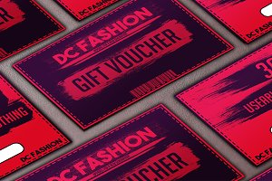 Apparel Store Gift Voucher