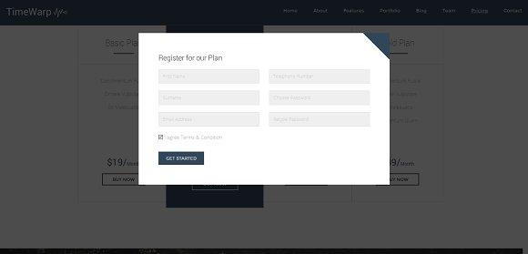 TimeWarp - Wordpress Future Theme
