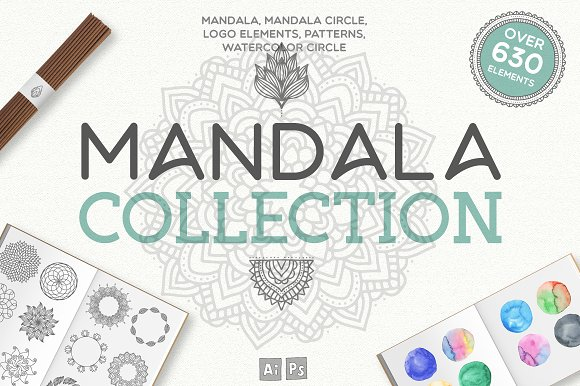 Mandala Collection [630 Elements]