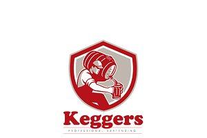 Keggers Professional Bartender Logo