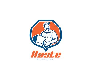 Haste Courier Services Logo