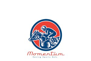 Momentum Racing Sports Bet Logo