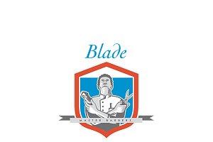 Blade Master Barber Logo