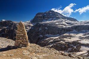 Dolomiti - Piz Boe mount